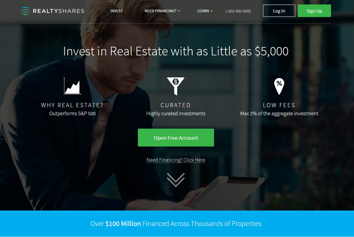 RealtyShares Account Overview